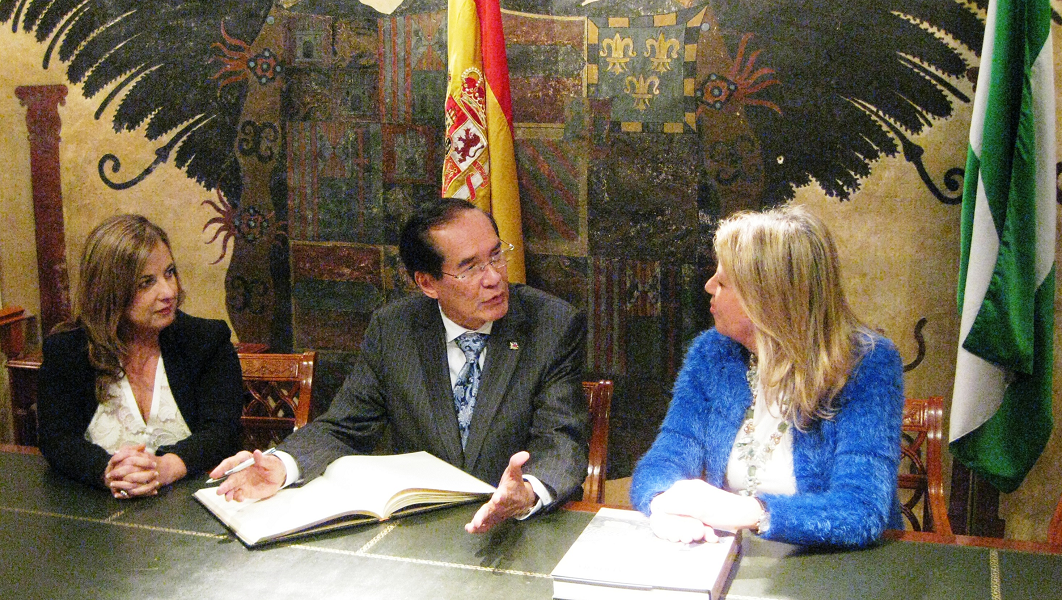 Ambassador Salinas Attends Formal Inauguration Of The Philippine Honorary Consulate In Malaga