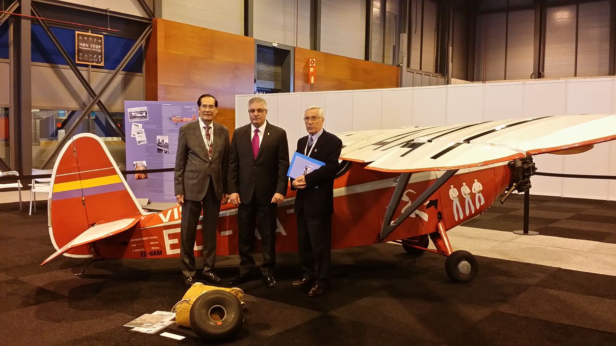 Ambassador Salinas Attends the Biggest Air Traffic Management Congress in the World
