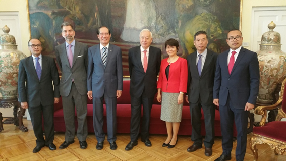 Asean Committee In Madrid Calls On Spanish Foreign Minister