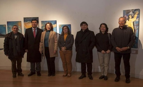 From left to right: Fr. Carlos Linera, OP; Consul General Emmanuel R. Fernandez and his spouse, Mrs. Alice Fernandez; Avila´s Deputy Mayor for Culture, Maria Sonsoles-Sanchez; Fr. Carlos Simbajon, OP; Madrid PE´s POLO Head, Mrs. Nesa Nolido and her spouse, Mr. Arc Nolido.