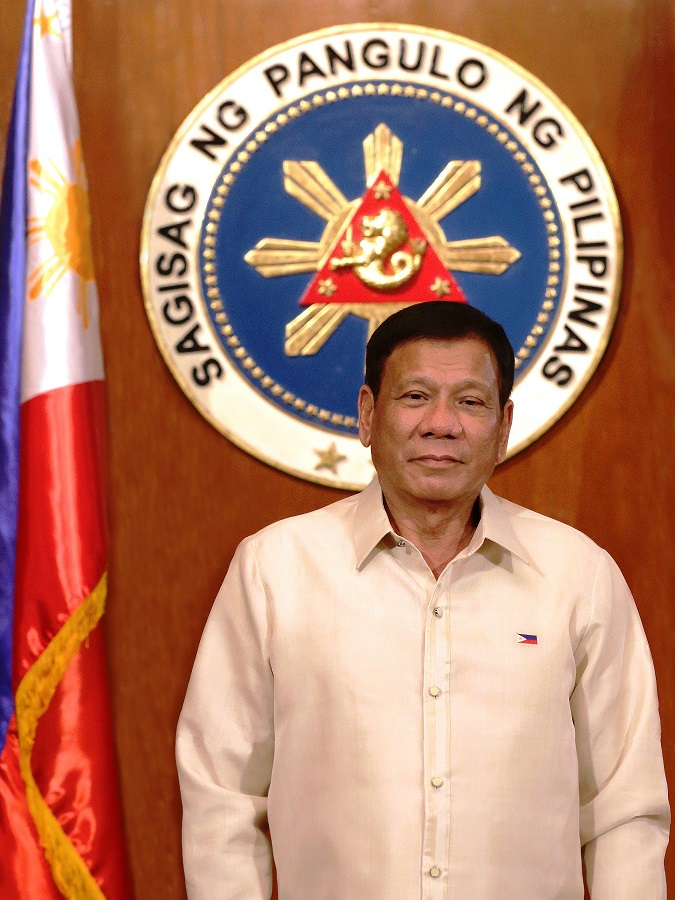 His Excellency, Rodrigo Roa Duterte, 16th President of the Philippines.