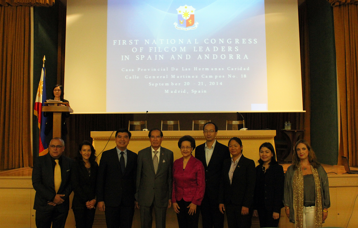 First-Ever Filcom Leaders' National  Congress Held In Madrid