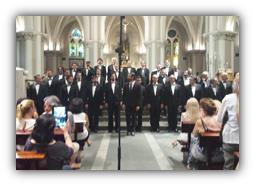 Coro de Voces Graves de Madrid.