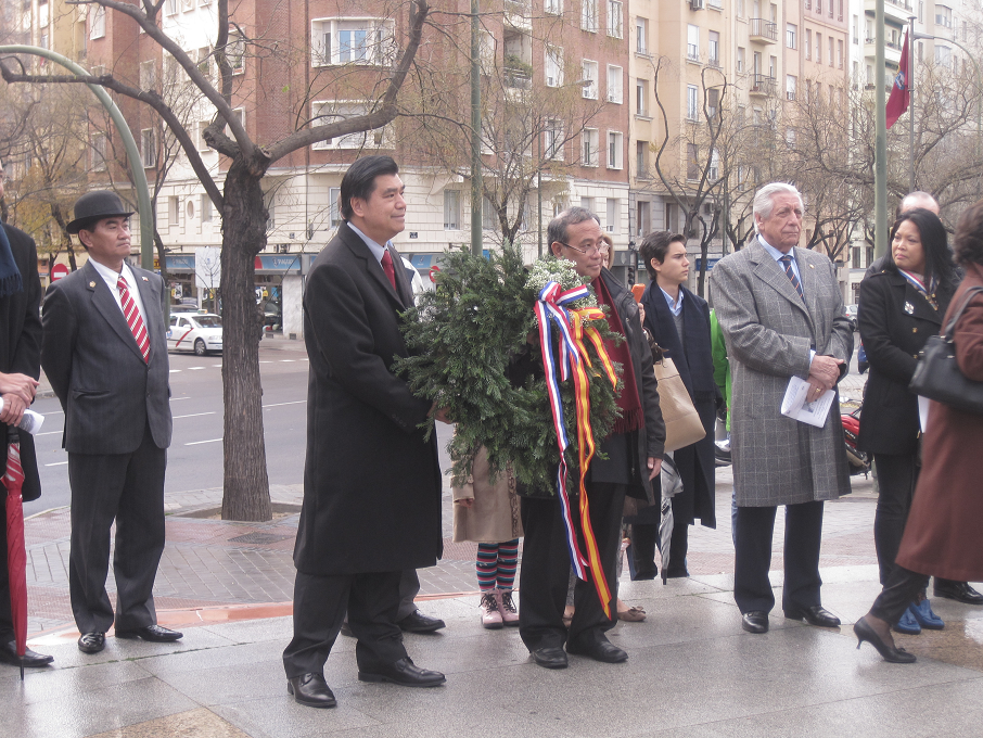 PHL Embassy Madrid Commemorates Rizal Day
