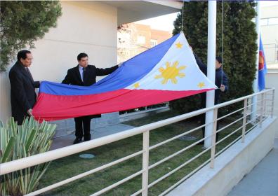 Philippine Embassy Madrid Commemorates Edsa 29
