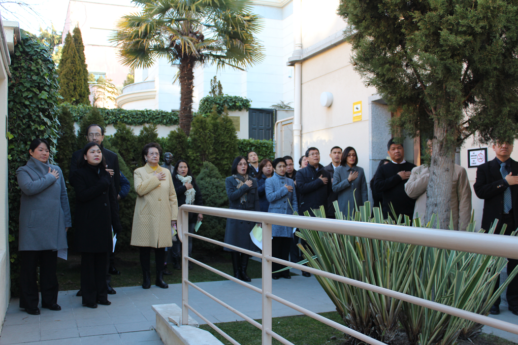 Philippine Embassy Madrid Commemorates Edsa 29