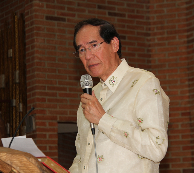 Philippine Embassy in Madrid Offers Holy Mass in Commemoration of Philippine Independence