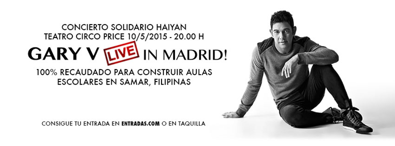 Philippine Embassy in Madrid is proud to host Gary V Live
