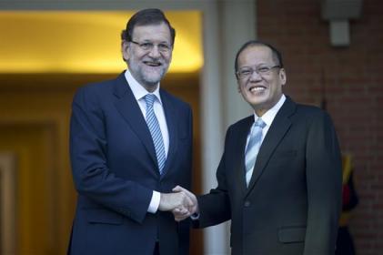 President Benigno S. Aquino III meets Spain´s Prime Minister Mariano Rajoy