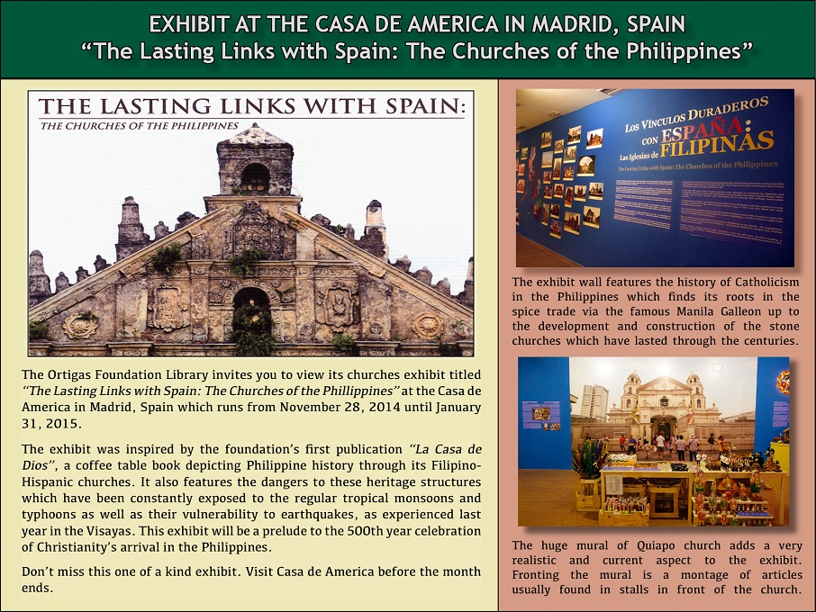 Spain Exhibit poster to Phil embassy