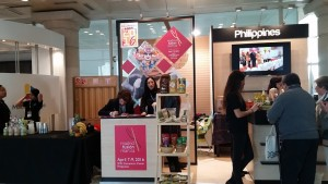 Philippine stand at the Madrid Fusion 2016.
