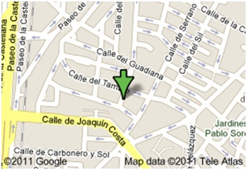 Contact Us Philippine Embassy Madrid - Map location of us embassy manila