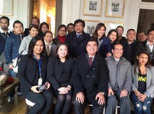 Ambassador Salinas Meets With Filcom Leaders And