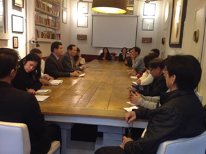Ambassador Salinas Meets With Filcom Leaders And Business Reps In Barcelona