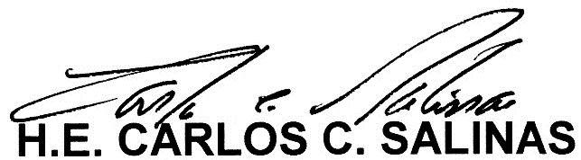 Ambassador's signature