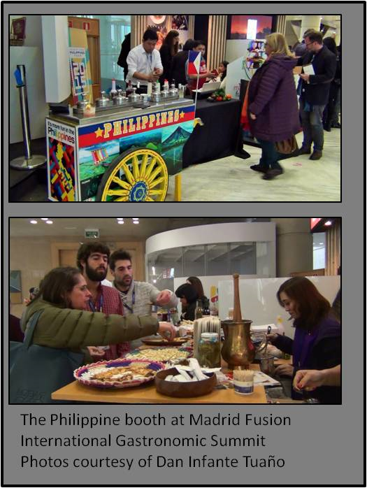 Filipino Chefs Make History at the Madrid Fusión International Gastronomic Summit