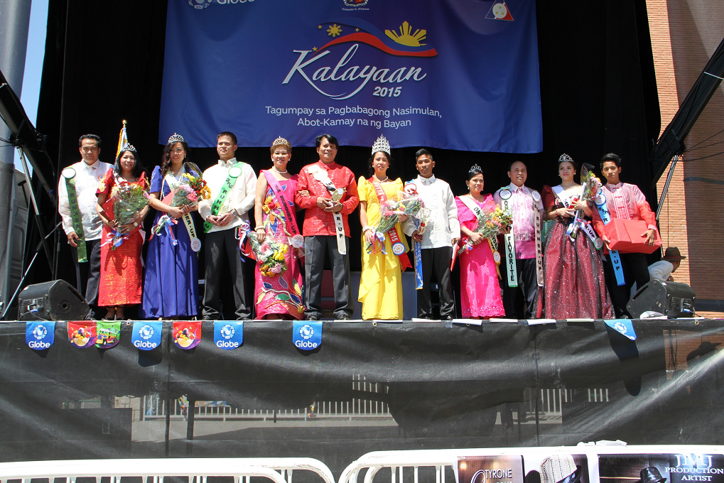 Filipino Community in Madrid Holds Barrio Fiesta 20153