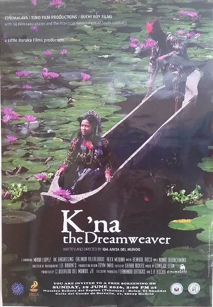 Official poster of K'na the Dreamweaver.