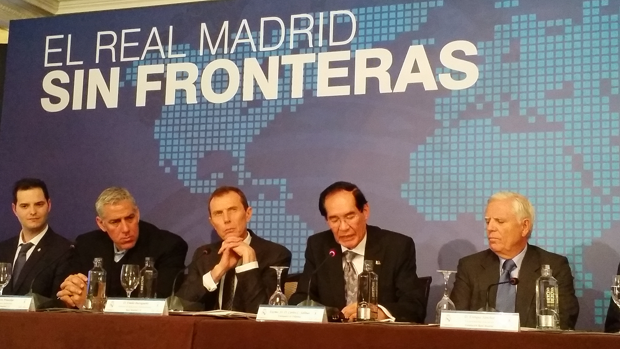 "Madrid PE Takes Part in ""Real Madrid Without Borders"" Forum"