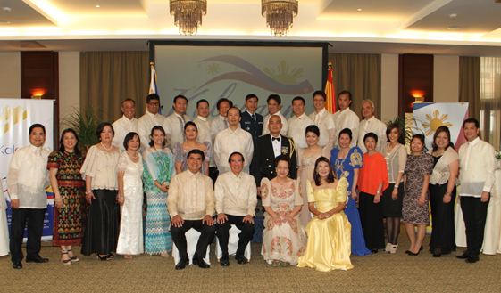 Philippine Embassy Celebrates 117th Philippine Independence Day,                 13th Philippines-Spain Friendship Day with Diplomatic Reception