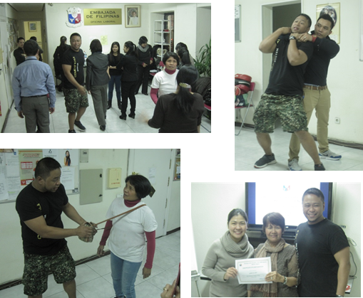 Philippine Embassy Madrid Conducts Basic Self-Defense Workshop For Migrant Filipinos