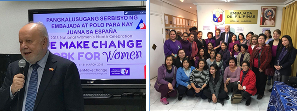 PE Marks Philippine and International Women's Day with