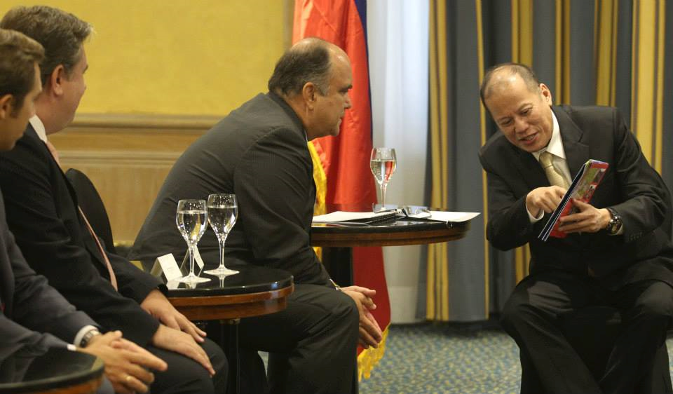President Benigno S. Aquino III´s meetings with Spanish Businessmen