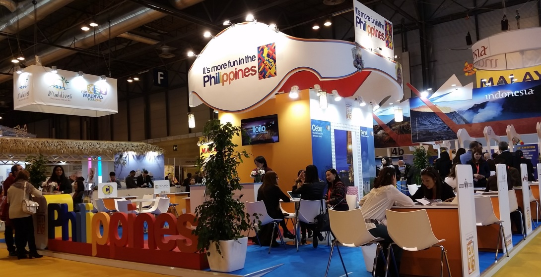 The Philippine Pavilion at the FITUR