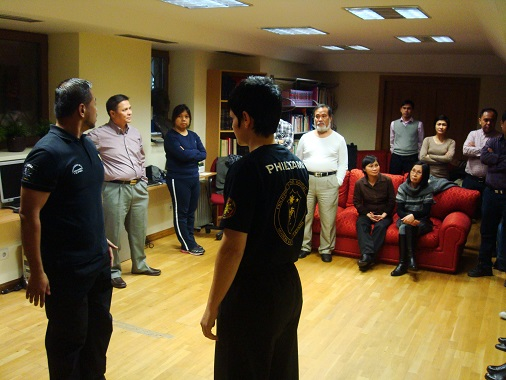Phl Embassy Madrid Personnel Undergo Self-Defense