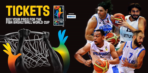 Fiba Basketball World Cup Tickets Now Available