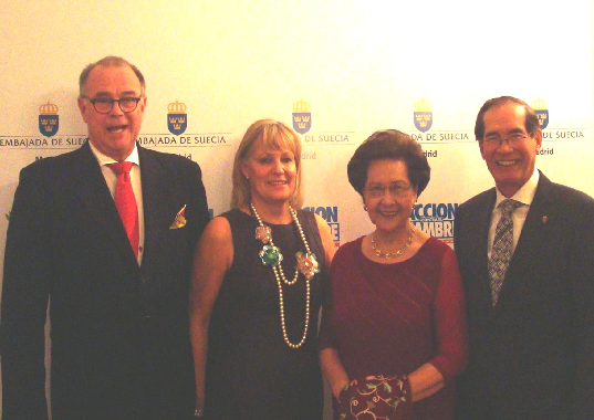 Phl Ambassador To Spain Co-Hosts Benefit Dinner For Victims Of Typhoon Haiyan